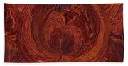 The Tunnel Red Beach Towel
