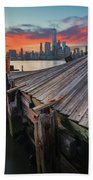 The Twisted Pier Beach Towel