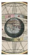 The Universe Of Ptolemy Harmonia Beach Towel by Science Source