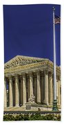 The Us Supreme Court Beach Towel