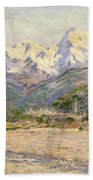 The Valley Of The Nervia, 1884  Beach Towel