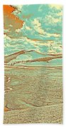 The Valley Of Winding Snake River Beach Towel