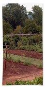 The Vegetable Garden At Monticello II Beach Sheet