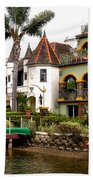 The Venice Canal Historic District Beach Towel