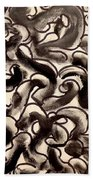 The Veritable Aspects Of Uli Arts #169 Beach Towel