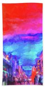The Walkabouts - Sunset In Chinatown Beach Towel