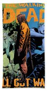 The Walking Dead - Now Or Never Beach Towel
