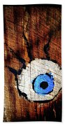 The Watcher Beach Towel