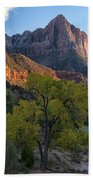 The Watchman And Virgin River Beach Towel