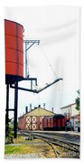 The Water Tower Beach Towel