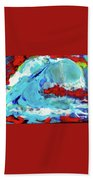 The Wave #2 Beach Towel