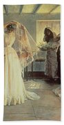 The Wedding Morning Beach Towel by John Henry Frederick Bacon
