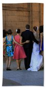The Wedding Party Detail Beach Towel