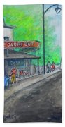 The West End Carryout At The Bridge Beach Towel