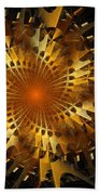 The Wheels Of Time Beach Towel