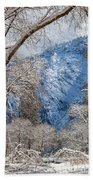 The White Forest Beach Towel