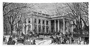 The White House, 1877 Beach Towel