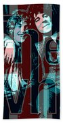 The Who Poster  Beach Towel