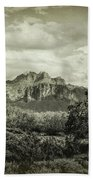 The Wild West Of The Superstitions  Beach Towel