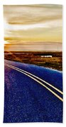 The Winding Road Beach Towel