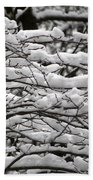The Winter Has Arrived Beach Towel