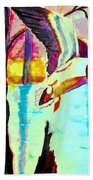 The Woodland Pond Beach Towel