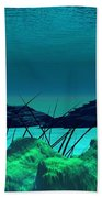 The Wreck Diving The Reef Series Beach Towel