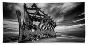 The Wreck Of The Peter Iredale Beach Towel
