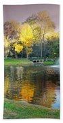 The Yellow Tree Beach Towel
