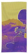 The Young Musician 3 Beach Towel