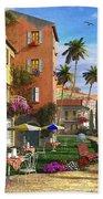 Themed Terrace Beach Towel