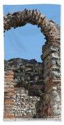 Theodosian Walls - View 17 Beach Towel