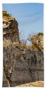Theodosian Walls - View 7 Beach Towel