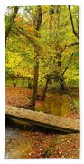 There Is Peace - Allaire State Park Beach Towel
