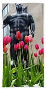 These Tulips Are For You Beach Towel