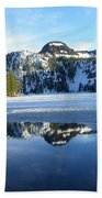 Thin Ice Beach Towel