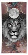 Third Eye Lion Vision Beach Sheet