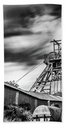 Thirty Seconds At Big Pit Mono Beach Towel