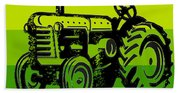 This Is How I Roll Tractor Tee Beach Towel