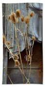 Thistle And Wood Beach Towel