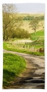 Thixendale Road  North Yorkshire Beach Towel