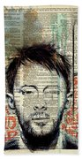 Thom Yorke Beach Towel
