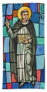 Thomas Aquinas Italian Philosopher Beach Towel