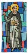Thomas Aquinas Italian Philosopher Beach Towel by Photo Researchers