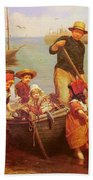 Thomas Edwin Monsters Of The Deep Beach Towel