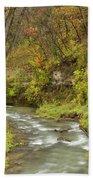 Thompson Creek Autumn 1 B Beach Towel