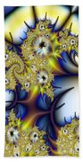 Thorned Flower Beach Towel