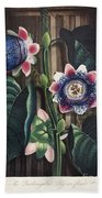 Thornton: Passion-flower Beach Towel
