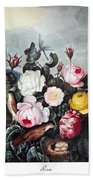 Thornton: Roses Beach Towel