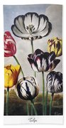 Thornton: Tulips Beach Towel